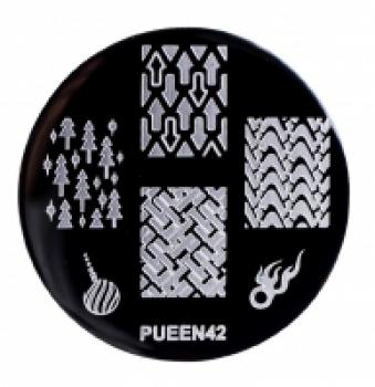 Диск для стемпинга PUEEN №42 | Venko