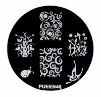 Диск для стемпинга PUEEN №46 | Venko