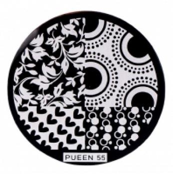 Диск для стемпинга PUEEN №55 | Venko
