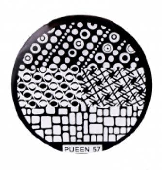 Диск для стемпинга PUEEN №57 | Venko
