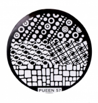 Диск для стемпинга PUEEN №57