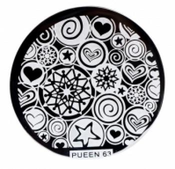 Диск для стемпинга PUEEN №63 | Venko