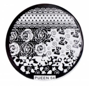Диск для стемпинга PUEEN №64 | Venko