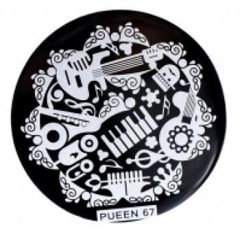 Диск для стемпинга PUEEN №67 | Venko