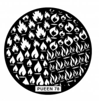 Диск для стемпинга PUEEN №78