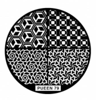 Диск для стемпинга PUEEN №79 | Venko