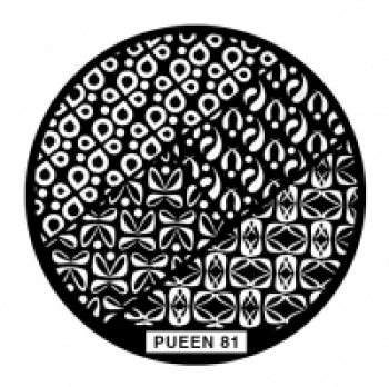Диск для стемпинга PUEEN №81