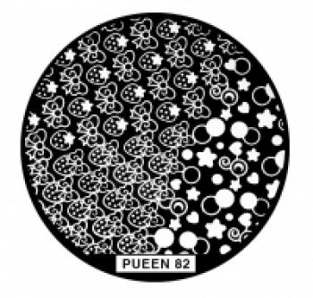 Диск для стемпинга PUEEN №82