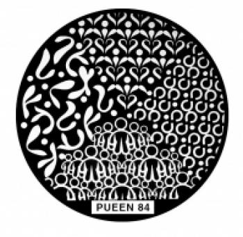 Диск для стемпинга PUEEN №84 | Venko