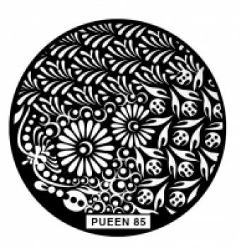 Диск для стемпинга PUEEN №85