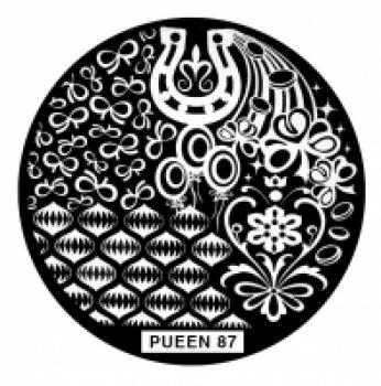 Диск для стемпинга PUEEN №87
