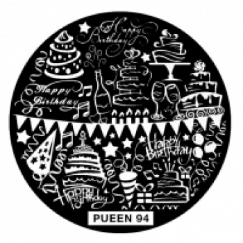 Диск для стемпинга PUEEN №94 | Venko