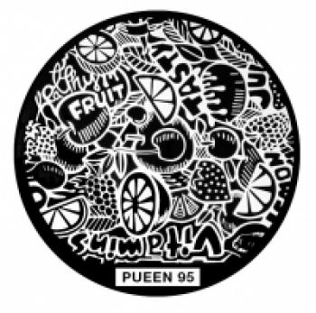 Диск для стемпинга PUEEN №95
