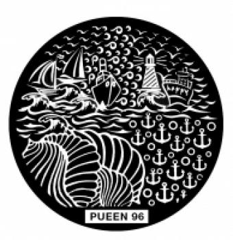 Диск для стемпинга PUEEN №96
