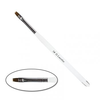 Кисть для наращивания G.Lacolor с прозрачной ручкой №5