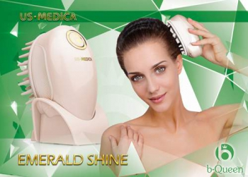 Массажер для кожи головы US MEDICA Emerald Shine | Venko