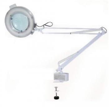 Лампа лупа на струбцине S2021АT (3,5 диоптр)