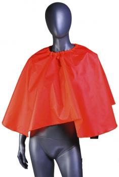 Пелерина для клиента (длина – 40 см) Красный