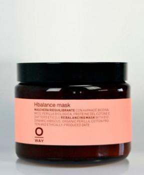 OWAY Hbalance Маска для волос при применении щелочных средств 500 мл (стекло)