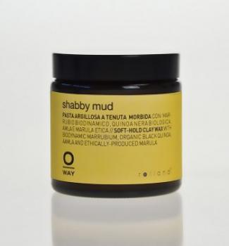OWAY Shabby mud Воск мягкой фиксации для волос 100 мл | Venko