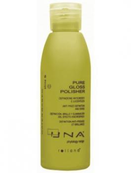 UNA Pure Gloss Polisher Средство для блеска и розгладж. непослушных волос 150 мл | Venko