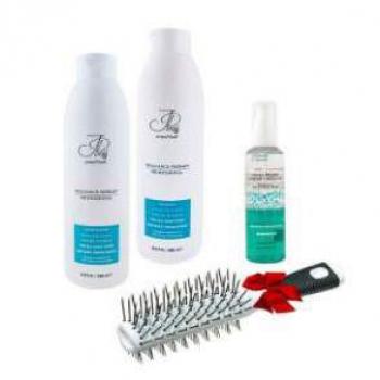 Набор для всех типов волос 1000мл (щетка+кристалы)