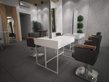 Двухстороннее рабочее место парикмахера из МДФ | Venko
