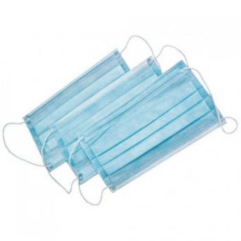 Маска медицинская трехслойная голубая 50 шт | Venko
