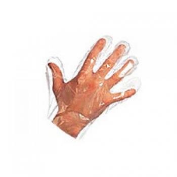 Перчатки полиэтиленовые упаковка 100 штук  белый | Venko