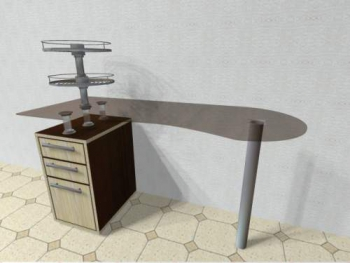 Маникюрный стол Кристалл | Venko
