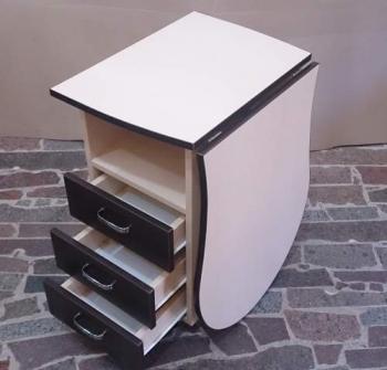 Складной маникюрный стол без надстройки для лаков | Venko