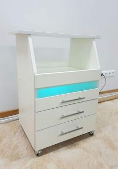 Косметологическая тележка с бактерицидной лампой К0034 | Venko