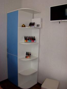Шкаф с радиусными полочками для лаков К322 | Venko