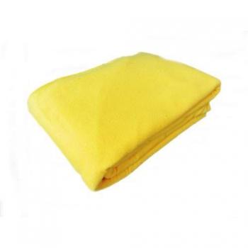 Чехол на кушетку 1,0х2,20 м (махра-флис) желтый