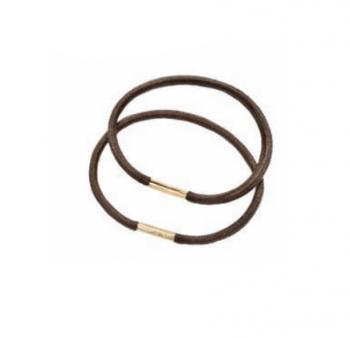 Набор резинок Eurostil - 24 шт. коричневые | Venko
