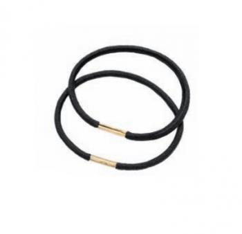 Набор резинок Eurostil - 24 шт. черные | Venko