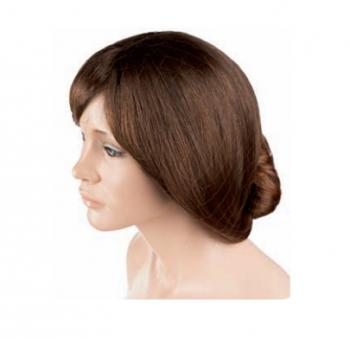 Сеточка для волос Eurostil черная (уп.12 шт)