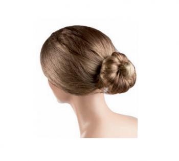 Сеточка для волос Eurostil темно коричневая нейлон (уп. 12 шт) | Venko