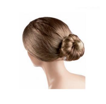 Сеточка для волос Eurostil коричневая нейлон (уп. 12 шт)