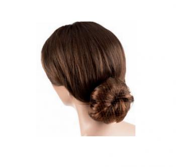 Сеточка для волос Eurostil коричневая (уп. 12 шт) | Venko