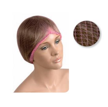 Сеточка для волос Eurostil розовая (уп. 12 шт) | Venko