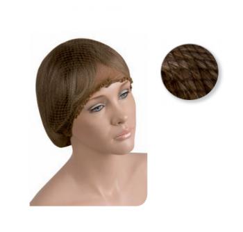 Сеточка для волос Eurostil коричневая (набор) | Venko