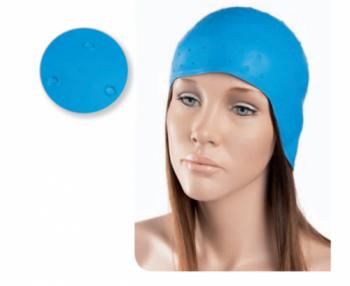 Шапочка для мелирования Eurostil резиновая синяя | Venko
