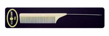 Расческа Eurostil женская шпикуль силиконовый металлический хвост PRO-50 | Venko