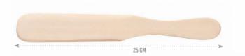 Шпатель Eurostil для воска с ручкой 250 мм | Venko