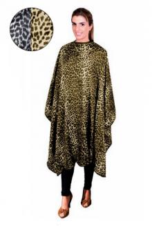 Накидка нейлоновая Eurostil леопардовая желтая | Venko