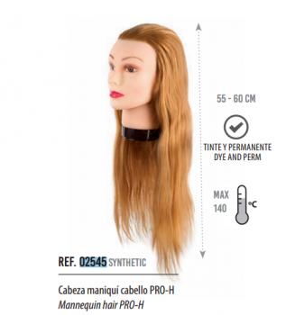 Манекен голова Eurostil (PRO-H волосы - 55-60 см) | Venko