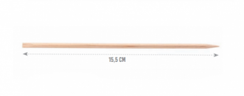 Палочки апельсиновые Eurostil 10 шт. - 15.5 см | Venko