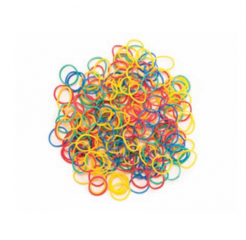 Резинки Eurostil цветные 100 г