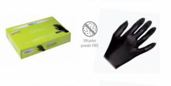 Перчатки черные Eurostil (уп. 50 шт.), маленькие | Venko